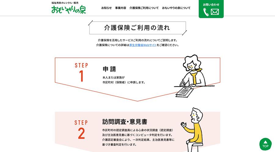 新潟県厚生事業協同公社様「おもいやりの泉」Webサイトリニューアル-1