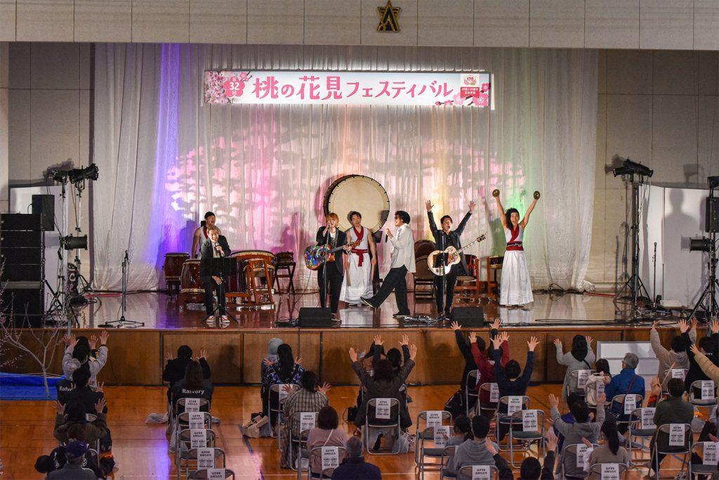 刈羽村様 第32回桃の花見フェスティバル